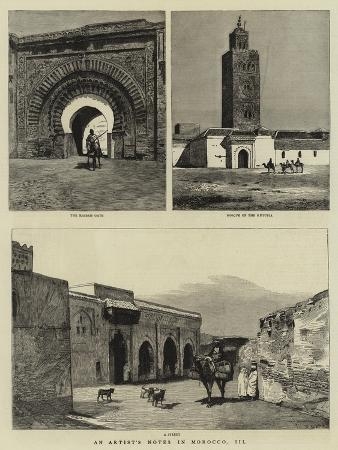 An Artist's Notes in Morocco, III