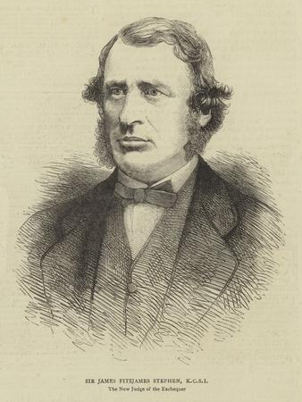 Sir James Fitzjames Stephen, Kcsi