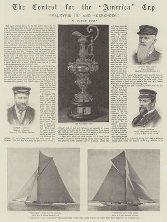 The Contest for the America Cup