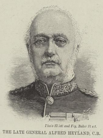 The Late General Alfred Heyland