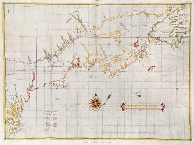 The Velasco Map, Facsimile, 1610