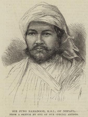 Sir Jung Bahadoor, Ksi of Nepaul
