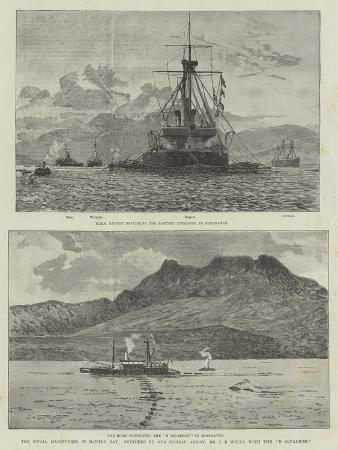 The Naval Manoeuvres in Bantry Bay