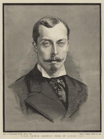 Hrh Prince Leopold, Duke of Albany