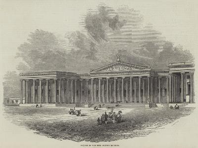 Facade of the New British Museum