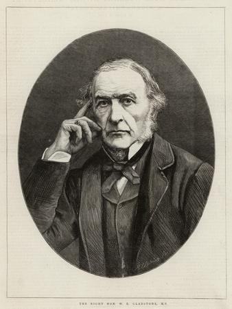 The Right Honourable W E Gladstone
