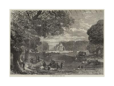 The Chestnut-Trees in Bushey Park