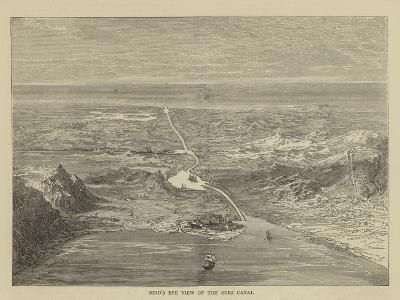 Bird's Eye View of the Suez Canal
