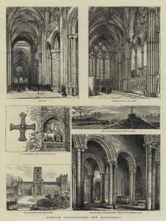 Durham Illustrated, the Cathedral