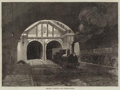 Railway Through the Thames Tunnel
