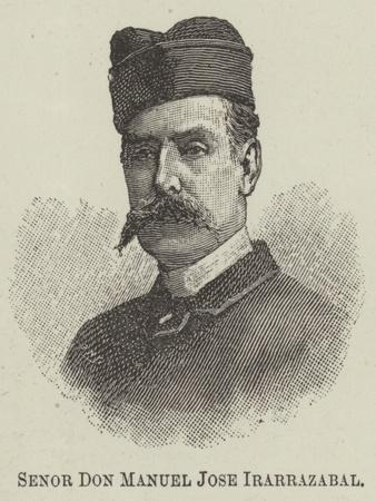 Senor Don Manuel Jose Irarrazabal