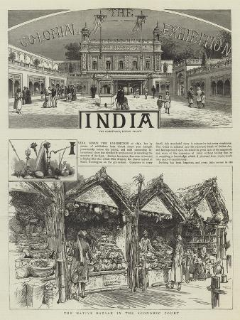 The Colonial Exhibition, India