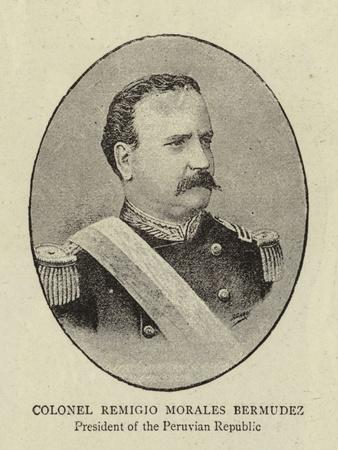 Colonel Remigio Morales Bermudez