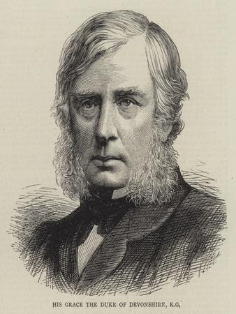 His Grace the Duke of Devonshire