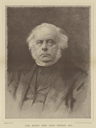 The Right Honourable John Bright
