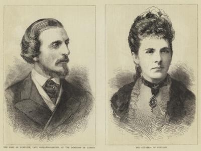 The Earl and Countess of Dufferin