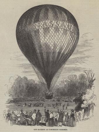 The Balloon at Cremorne Gardens