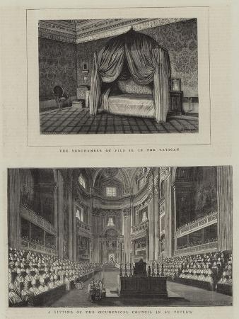 Interior of St Peter's, Vatican