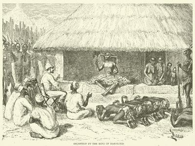 Reception by the King of Makoloko
