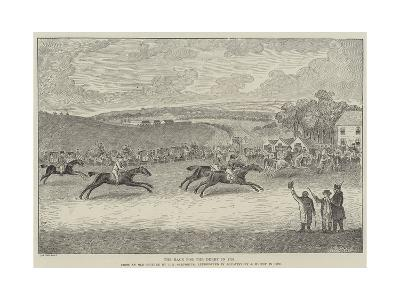 The Race for the Derby in 1791