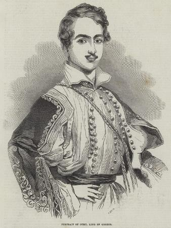 Portrait of Otho, King of Greece