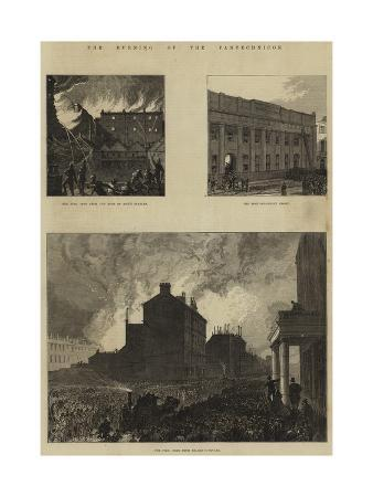 The Burning of the Pantechnicon