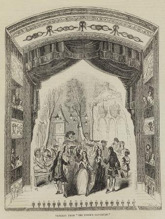 Tableau from The Miser's Daughter