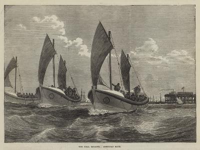 The Deal Regatta, Life-Boat Race