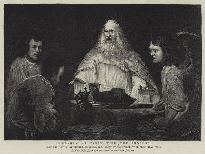 Abraham at Table with the Angels