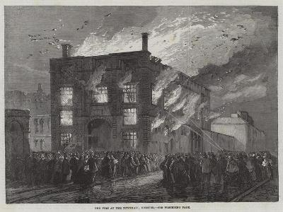 The Fire at the Townhall, Chester