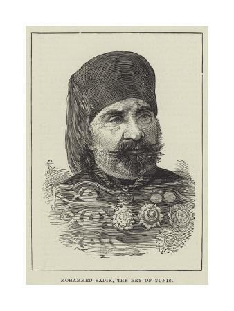Mohammed Sadik, the Bey of Tunis