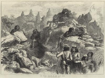 The Modoc Indians in the Lava Beds
