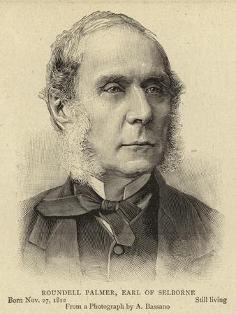Roundell Palmer, Earl of Selborne