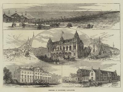 Sketches at Southport, Lancashire