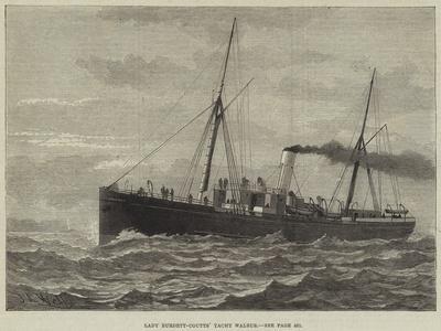 Lady Burdett-Coutts' Yacht Walrus