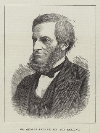 Mr George Palmer, Mp for Reading