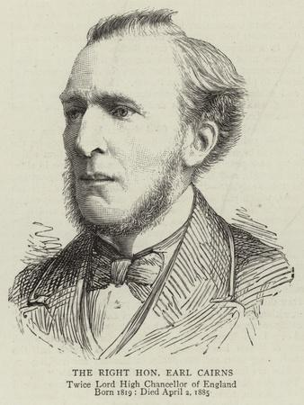 The Right Honourable Earl Cairns
