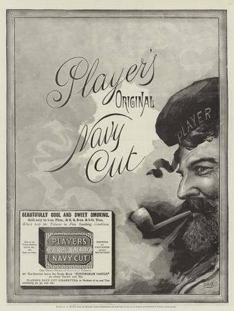 Advertisement, Player's Navy Cut