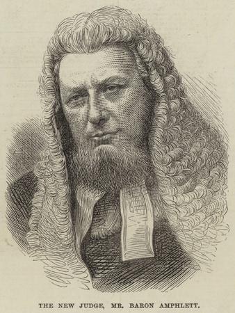 The New Judge, Mr Baron Amphlett