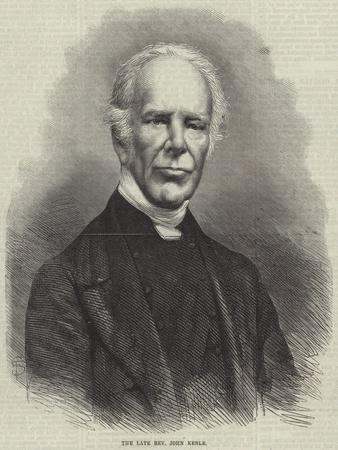 The Late Reverend John Keble