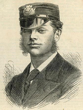 Lieutenant R.H. Archer, 1875