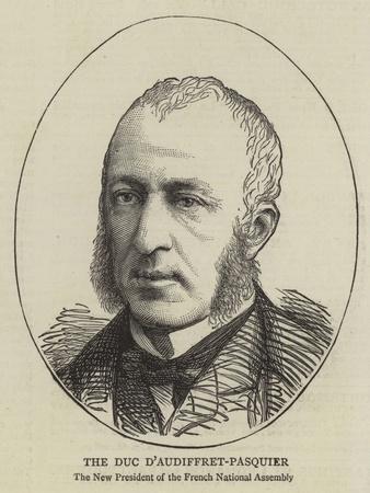 The Duc D'Audiffret-Pasquier
