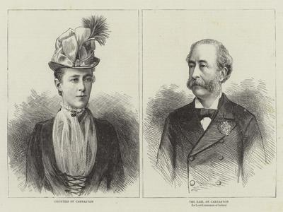 Earl and Countess of Carnarvon