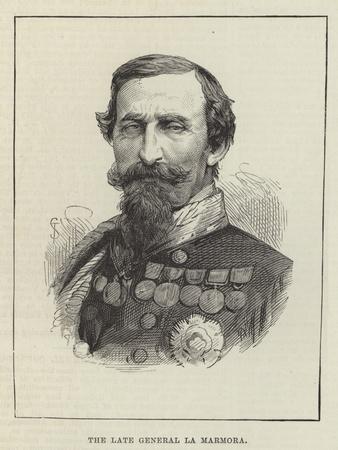 The Late General La Marmora