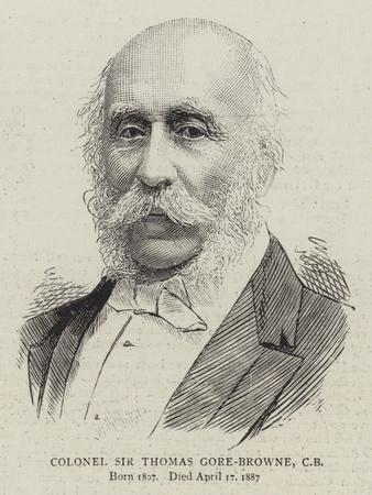 Colonel Sir Thomas Gore-Browne