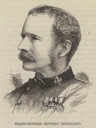 Major-General Edward Newdigate