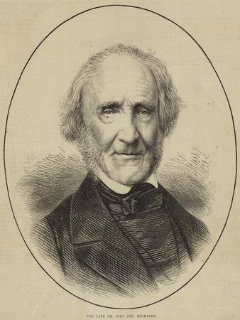 The Late Mr John Pye, Engraver