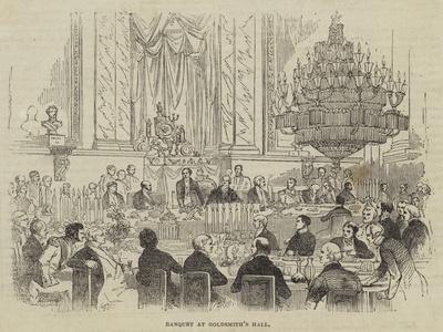 Banquet at Goldsmith's Hall
