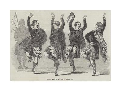 Highland Dancers and Pipers