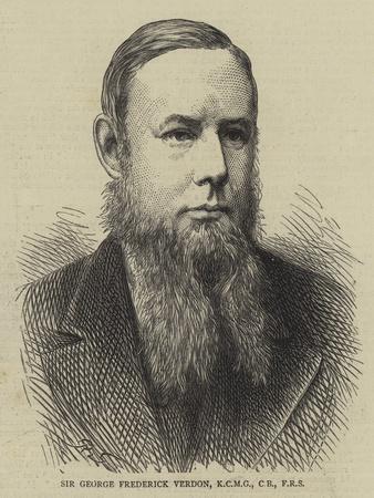 Sir George Frederick Verdon
